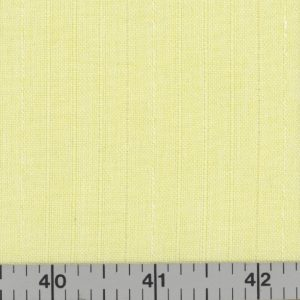 Celery/Yellow polyester fabric with stripes.