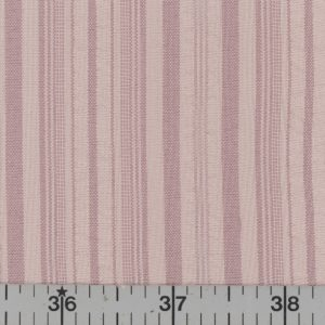 Dusty rose stripe polyester fabric.