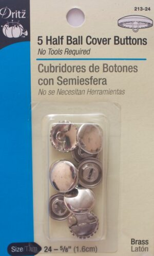 Cover Buttons.