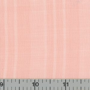 Peach, solid color, fabric with subtle stripes.