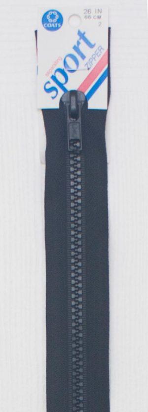 Coat's Jacket zipper.