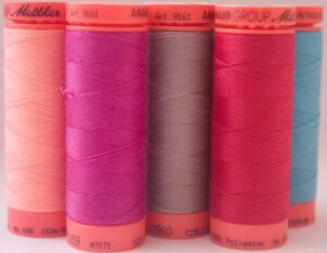 Regular thread spools.