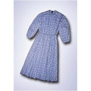 Women's custom cape dress.