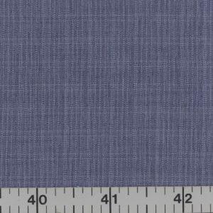 Blue fabric with subtle plaid.